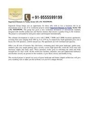 Supertech Romano Noida, Sector 118 Call +91- 9555599199 | Supertech Romano Noida | Scoop.it