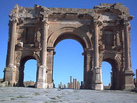 La antigua ciudad romana de Timgad, uno de los tesoros perdidos de África | Mundo Clásico | Scoop.it