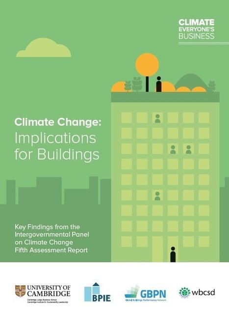 Le bâtiment face au changement climatique | Bâti et biodiversité | Scoop.it