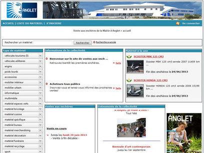 La ville d'Anglet vend son matériel réformé aux enchères - Articles - Anglet | Revue de presse | Scoop.it