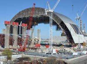 Protective arch should be placed over destroyed Chernobyl power unit by mid-November | Fukushima | Scoop.it