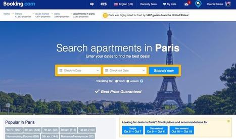 #Airbnb Needs to Watch Out for #Booking.com's Apartment Ambitions – | ALBERTO CORRERA - QUADRI E DIRIGENTI TURISMO IN ITALIA | Scoop.it