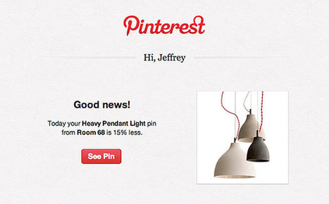 Pinterest introduces email alerts for price reductions on pinned items - Engadget | Pinterest and Social Media information | Scoop.it