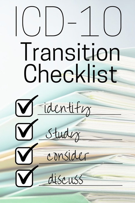Checklist for the ICD-10 Transition | Medical Coding & Billing News | practice management | Scoop.it