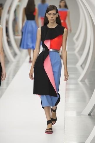 Suzy Menkes Roksanda: The Colour of Art   Fashion   Scoop.it