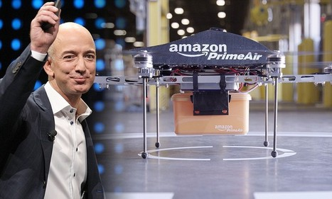 Amazon CEO Jeff Bezos says drone deliveries are nearly here   Logistics, supply chain, transport   Scoop.it