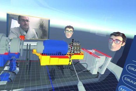Une salle de réunion virtuelle en immersion 3D - Construction Numérique | Facilitation du travail d'équipe | Scoop.it