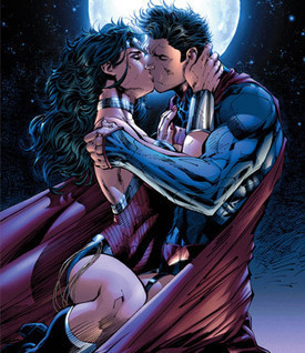 With This Kiss...Superman and Wonder Woman Are Finally an Item | Eclectic Mix | Scoop.it