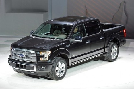 Nuovo Ford F-150 2014 (Foto) | AllaGuida | Ford Roma | Scoop.it