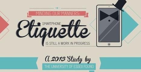 Infografía que nos enseña a hacer un uso educado del móvil | TIC | Scoop.it