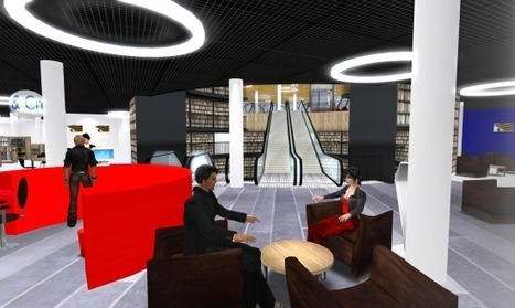 Virtual library opens in Second Life – Hypergrid Business | Digital Delights - Avatars, Virtual Worlds, Gamification | Scoop.it