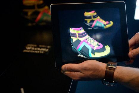 Une collection de chaussures 100 % numerique du FashionLab de 3DS | FashionLab | Scoop.it