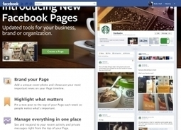 """Facebook Debuts New Timeline Pages for Brands - Forbes 