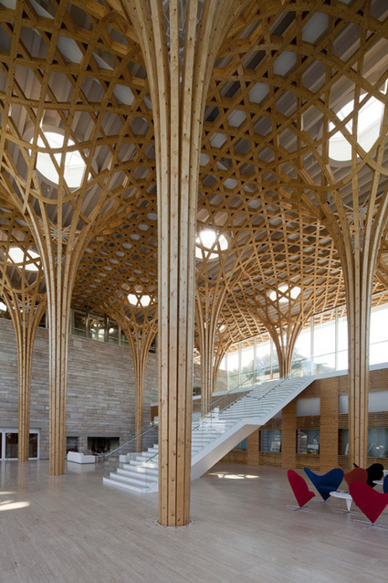 HAESLEY NINE BRIDGES GOLF CLUB HOUSE - Korea, 2010: Shigeru Ban, Pritzker Prize winner 2014 | The Architecture of the City | Scoop.it