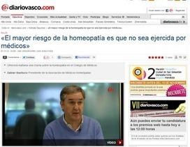 La lista de la vergüenza: Homeopatía en el Colegio de Médicos de Guipúzcoa | Guipuzcoa Turismo | Scoop.it