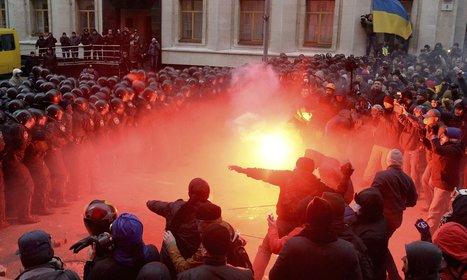 Ukraine rocked by largest street protests since Orange Revolution - The Guardian | Activism, Protest, Citizen Movements, Social Justice | Scoop.it