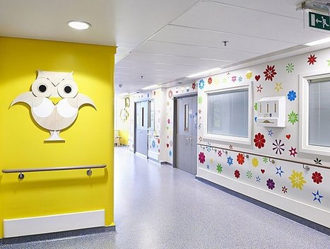 15 artistes collaborent pour égayer l'hôpital des enfants de Londres | Sustainability, environnement, carbon | Scoop.it