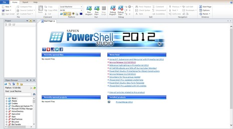 PowerShell Studio 2012: Full-featured tool provides extra help | PowerShell | Scoop.it