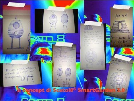 Scatol8 SmartGarden 3.0 - Uno sguardo sui primi bozzetti... | scatol8® | Scoop.it