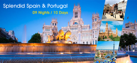 Spain Portugal Tour Packages, Holiday in Spain Portugal 2016. | Europe Group Tours, Holiday Packages, Travel Packages 2017 | Scoop.it