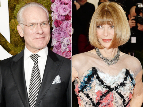 "Tim Gunn Feud With Anna Wintour: ""I Don't Look Her in the Eyes"" 