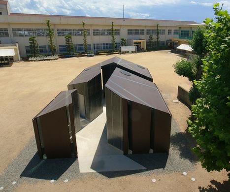 daigo ishii + future-scape architects orient sliced house of toilet - designboom | architecture & design magazine | 建築 | Scoop.it