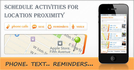 Now Trigger Location Based Alerts with Location Alert App for iPhon   Appsicum Apps   Scoop.it