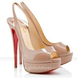 Hot Lady Peep Sling Nude Christian Louboutin Slingbacks 150mm Sale [Nude Louboutin Slingbacks Lady Peep Sling] - $166.00 : Christian Louboutin 2013 Sale with Discount Price | Christian Louboutin Shoes | Scoop.it