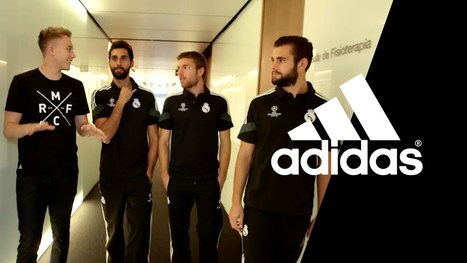 El Real Madrid, estrella del nuevo episodio del Adidas Gamedayplus - La Jugada Financiera | Seo, Social Media Marketing | Scoop.it