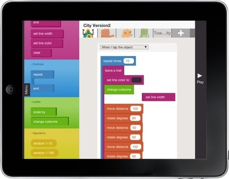 Hopscotch Introduces Programming for Kids on an iPad - GeekDad (blog) | Students Love Tech | Scoop.it