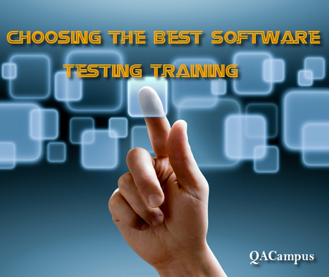 Mobile App Testing Training – Know QACampus | Software Testing Training | Scoop.it