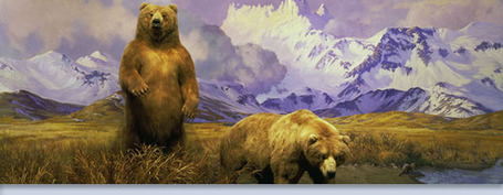 Alaska Brown Bear Diorama - American Museum of Natural History | The 21st Century | Scoop.it
