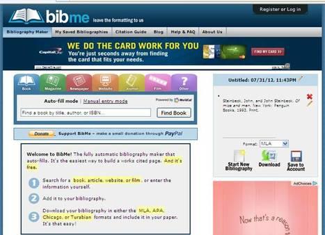 bibme - Bibliography Creator | 5th Grade | Scoop.it