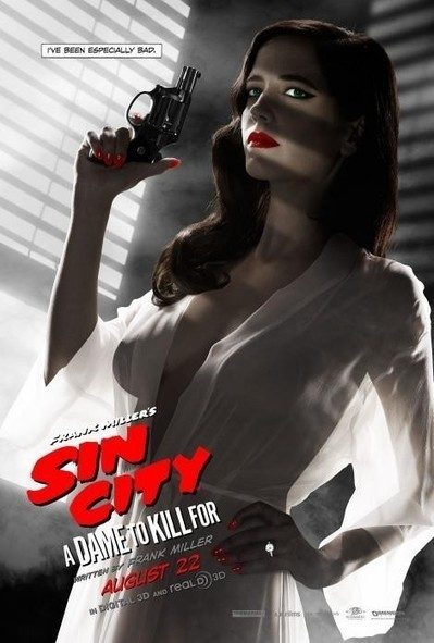 Eva Green's Sin City poster is so hot it's illegal | See You At The Movies | Scoop.it