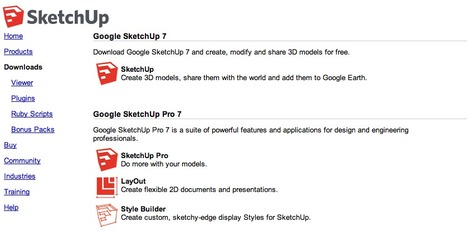 Google SketchUp | Animations, Videos, Images, Graphics and Fun | Scoop.it