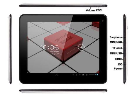 €178.99 Gemei G9T 9,7 pouces Android 4.0 Dual Core IPS écran capacitif tablette Amlogic AML8726-MX Cortex-A9 1 Go RAM 16 Go 3G Tablette PC 3D - 7mall.fr | 7mall | Scoop.it