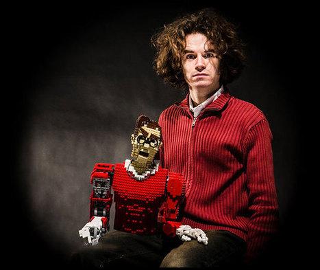 Legonardo l'humanoïde peintre fait en Lego | Actualités robots et humanoïdes | Scoop.it