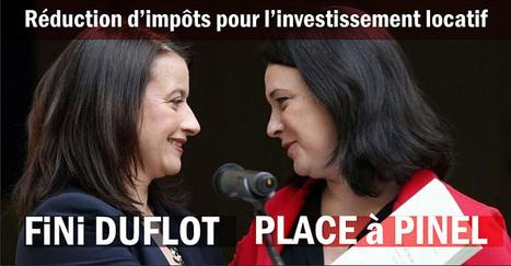 Loi Pinel / Réhabilitation : défiscalisation investissement locatif | Actu investissement immobilier | Scoop.it