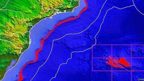 Pedaço de continente submerso no meio do Atlântico | tecnologia s sustentabilidade | Scoop.it