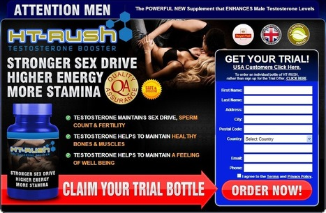 HT Rush Testosterone Booster Reviews - Get Free Trial | HT RUSH Testosterone Booster | Scoop.it