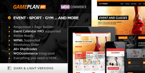 Download Gameplan - Event and Gym Fitness Wordpress Theme - Slicontrol.Net | Free Download Premium Wordpress Themes and Plugin | Scoop.it