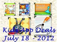Kids Apps Deals: 6 Fun Learning Apps! July 18 - Fun Educational Apps:  Top Apps for Kids Reviews!   Educational Ipad Apps   Scoop.it