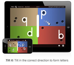 *Special Ed~LetterReflex: Overcoming Letter Reversals App | Teaching with Tech for Special Education | Scoop.it