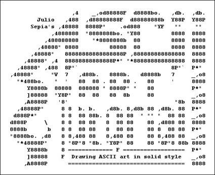 Solid ASCII Art Tutorial by ~jSepia on deviantART   ASCII Art   Scoop.it