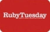 """Buy Discounted Ruby Tuesday Gift Cards 