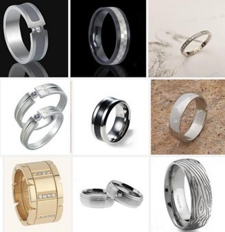 Detect-Metels: Titanium Ring for your wedding | dress33 | Scoop.it