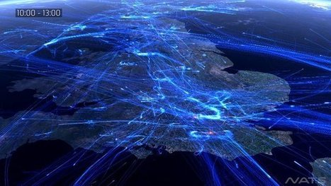 An Entire Day Of All Of Europe's Air Travel, Visualised - Gizmodo Australia | Australia travel news | Scoop.it