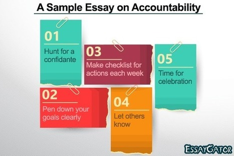 A Sample Essay on Accountability | Academic Writing Service | Scoop.it
