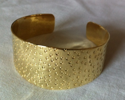 fair trade Cambodia.Recycled brass bombshell hammered cuff,handcrafted ethically by disadvantaged home based artisans   Recycled Bomb Casings & Bullet Shell Jewellery   Scoop.it