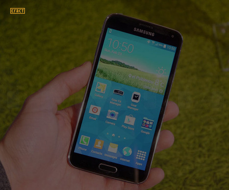 Interesting Facts about Samsung Galaxy S5   Facts   Scoop.it